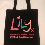 Black Cotton Shopping Bag