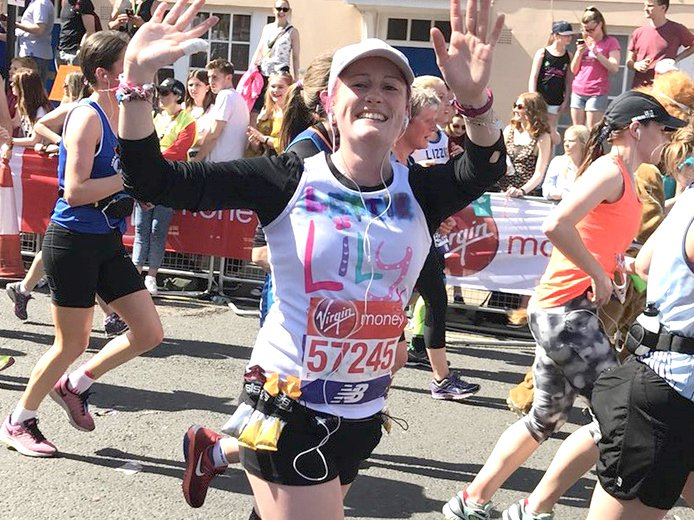 Running The London Marathon for The Lily Foundation, fighting Mitochondrial Disease