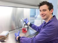 Shane Bell, PHD researcher at the Wellcome Centre for Mitochondrial Research, Newcastle University