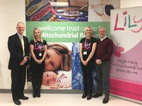 Staff from the Lily Foundation and Wellcome Trust Centre for Mitochondrial Research